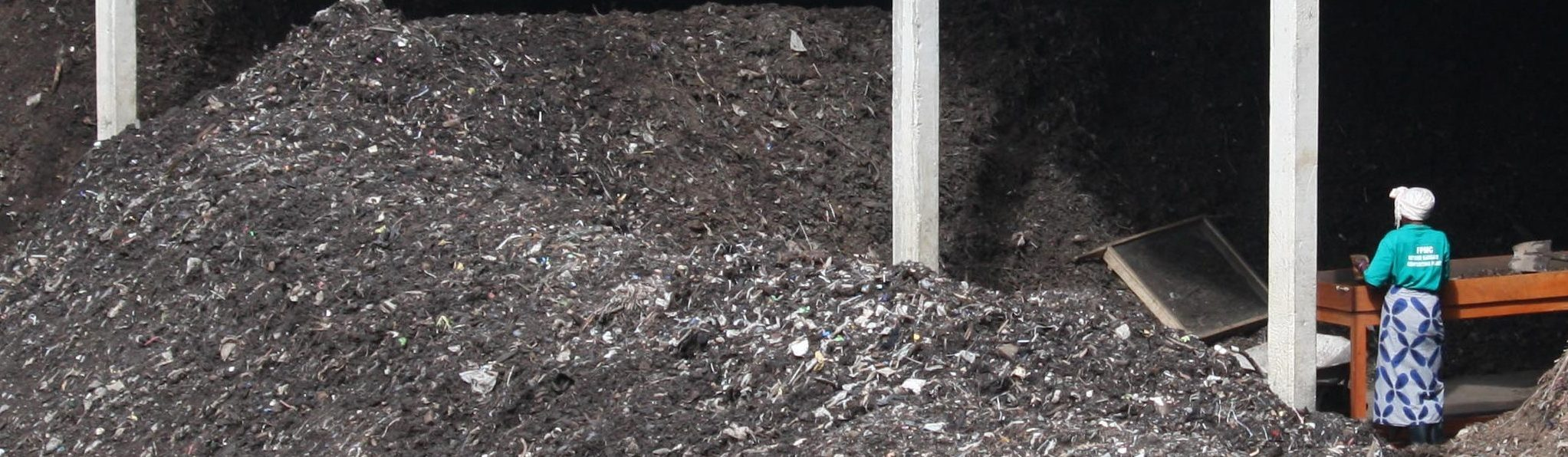 Urban Solid waste composting in Uganda, africa, climate change project.